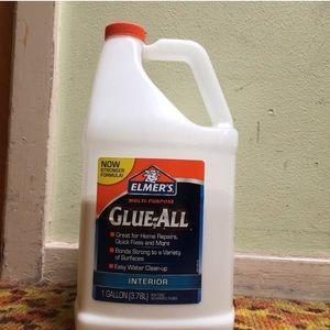 Half gallon of Elmer's glue